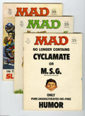 Magazines:Mad, Mad Group (EC, 1958-82) Condition: Average FN-.. Sixty-threemagazine group includes nine copies from the 60s, 28 copies fro...(63 Comic Books)