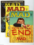 Magazines:Mad, Mad Group (EC, 1959-80) Condition: Average VF. Fifteen-issue grouplot includes #46, 51, 59, 64, 83, 87, 92, 94, 95, 109, 11... (15Comic Books)