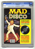 Magazines:Mad, Mad Disco #1 Gaines File pedigree (EC, 1980) CGC NM- 9.2 Off-whiteto white pages. Includes Mad Disco record. Jack Rickard c...