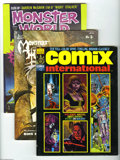 Magazines:Miscellaneous, Miscellaneous Comic Magazines Group (Various, 1980's) Condition: Average VF. This group features various comic-related magaz... (40 Comic Books)