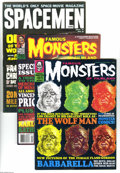 Magazines:Miscellaneous, Miscellaneous Sci-Fi/Horror Magazines Group (Various, 1964-1994)Condition: Average VF/NM. This group contains Famous Mons... (5Comic Books)