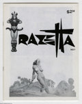 Magazines:Miscellaneous, Frank Frazetta Fan Club Group (Attezarf, 1969) Condition: AverageVF/NM. This group contains Frazetta #1, and The Sens... (2 ComicBooks)