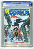 Magazines:Superhero, Savage Sword of Conan #39 (Marvel, 1979) CGC FN- 5.5 Off-white towhite pages. Tony DeZuniga frontispiece. Robert E. Howard ...