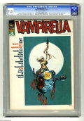 """Magazines:Horror, Vampirella #3 (Warren, 1970) CGC FN/VF 7.0 Off-white to white pages. """"Vampi's Scarlet Letters"""" page begins in this issue. Co..."""