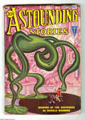 Pulps:Science Fiction, Astounding Stories (V11#1) Sept 1932 (Street & Smith, 1932)Condition: FN. Hans Wessolowski cover art. Nice spine, cream pag...