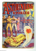 Pulps:Science Fiction, Astounding Stories (V11#2) Nov 1932 (Street & Smith, 1932)Condition: GD/VG. Hans Wessolowski cover art. Trimmed coveroverh...