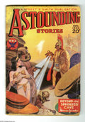 Pulps:Science Fiction, Astounding Stories (V12#3) Nov 1933 (Street & Smith, 1933)Condition: GD/VG. Howard Brown cover art. Cover overhangtrimmed,...