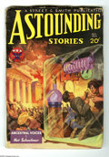 Pulps:Science Fiction, Astounding Stories (V12#4) Dec 1933 (Street & Smith, 1933) Condition: GD/VG. Howard Brown cover art. Glued front cover and s...
