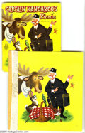 Original Comic Art:Covers, Mel Crawford - Captain Kangaroo's Picnic Cover Original Art(Whitman, 1959). Captain Kangaroo, Mr. Moose, Bunny Rabbit, Gree...(2 items)