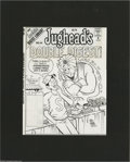 Original Comic Art:Covers, Stan Goldberg and Mike Esposito - Jughead's Double Digest #44 CoverOriginal Art (Archie, 1997). Jughead can have anything i... (2items)