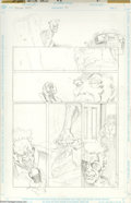 """Original Comic Art:Complete Story, Peter Gross - Doctor Fate #40, Complete 24-page Story """"Childhood Traumas"""" Original Art (DC, 1992). Two Dr. Fates tackle the ... (24 items)"""