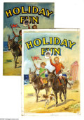 """Original Comic Art:Sketches, Walker Toy Book Artist - Walker Toy Book """"Holiday Fun"""" Cover and Interior Illustration Original Art, Group of 13 (Renwick of O... (14 items)"""