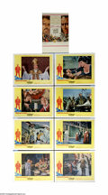 """Movie Posters:Drama, The Agony and the Ecstasy (20th Century Fox, 1965). Lobby Card Set of 8 (11"""" X 14""""). Carol Reed directs this biographical st... (8 items)"""