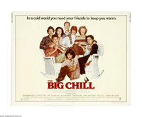 """The Big Chill (Columbia, 1983). Half Sheet (22"""" X 28""""). """"Amazing tradition. They throw a great party for..."""