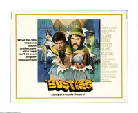 "Busting (United Artists, 1974). Half Sheet (22"" X 28""). Elliott Gould and Robert Blake are small-time vice cop..."
