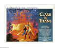 """Movie Posters:Fantasy, Clash of the Titans (MGM, 1981). Half Sheet (22"""" X 28""""). Theadventures of Perseus in his quest to rescue Andromeda was the ..."""