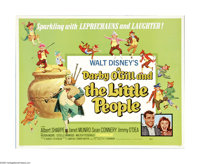 """Darby O'Gill and the Little People (Buena Vista, R-1977). Half Sheet (22"""" X 28""""). The enchanting adventures of..."""