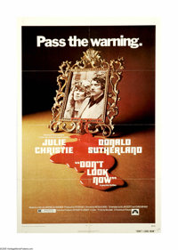 """Don't Look Now (Paramount, 1973). One Sheet (27"""" X 41""""). Nicholas Roeg, of """"Walkabout"""" and """"Man..."""