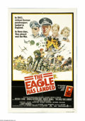 """Movie Posters:War, The Eagle Has Landed (Columbia, 1976). One Sheet (27"""" X 41"""").""""Nothing very complicated: he merely wants Winston Churchill b..."""