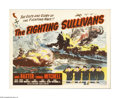 """Movie Posters:War, The Fighting Sullivans (Realart, 1951). Half Sheet (22"""" X 28"""").Based on a true story, this film follows brothers in Iowa du..."""