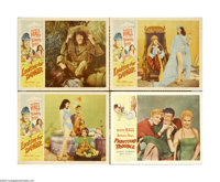 """Fighting Trouble (Allied Artists, 1956). Lobby Cards (4) (11"""" X 14""""). Huntz Hall and the Bowery Boys are back..."""