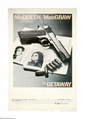 """Movie Posters:Action, The Getaway (Warner Brothers, 1972). Poster (40"""" X 60""""). SamPeckinpah's tale of a paroled bank robber who must pull off one..."""