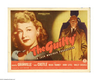 "The Guilty (Monogram, 1947). Half Sheet (22"" X 28""). ""SISTERS... one led men to love... the other drove t..."