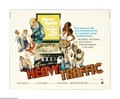 "Movie Posters:Animated, Heavy Traffic (AIP, 1973). Half Sheet (22"" X 28""). Ralph Bakshi'ssemi-autobiographical tale of a cartoon artist and animato..."