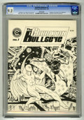 Magazines:Superhero, Charlton Bullseye #1 (Charlton, 1975) CGC NM- 9.2 White pages SteveDitko and John Byrne art. Al Milgrom and Joe Staton cove...