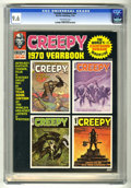 Magazines:Horror, Creepy Yearbook #nn (Warren, 1970) CGC NM+ 9.6 Off-white pages. Overstreet 2005 NM- 9.2 value = $50. CGC census 04/05: 2 in ...