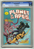 Magazines:Science-Fiction, Planet of the Apes #15 (Marvel, 1975) CGC NM+ 9.6 Off-white towhite pages. ...