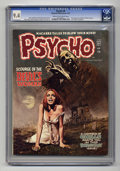 Bronze Age (1970-1979):Horror, Psycho #8 (Skywald, 1972) CGC NM 9.4 Cream to off-white pages.First appearance of Edward and Mina Sartyros (The Human Gargo...