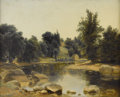 Fine Art - Painting, American:Other , After ASHER B. DURAND (Early Twentieth Century). RiverStream. Oil on canvas. 17 x 21 inches (43.2 x 53.3 cm).Unsigned...