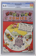 "Golden Age (1938-1955):Funny Animal, Tiny Tot Comics #5 Davis Crippen (""D"" Copy) pedigree (EC, 1946) CGCVF+ 8.5 Off-white pages...."