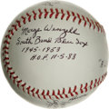 "Autographs:Baseballs, ""A League of Their Own"" Multi-Signed Baseball. Many know the rolethat the All-American Girls Professional Baseball League ..."