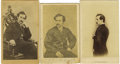 Photography:CDVs, John Wilkes Booth: An Outstanding Collection of Ten Cartes de Visite. . --An unusual image by an unidentified maker. Sho... (Total: 10 )