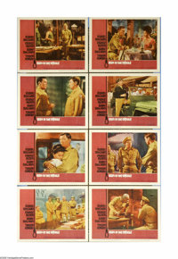 """Man in the Middle (20th Century Fox, 1964). Lobby Card Set of 8 (11"""" X 14""""). Adapted from Howard Fast's novel..."""