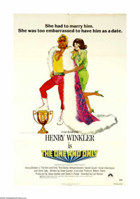 "The One and Only (Paramount, 1978). One Sheet (27"" X 41""). A starving actor and his wife (Henry Winkler and Ki..."