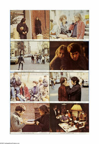 """The Panic in Needle Park (20th Century Fox, 1971). Lobby Card Set of 8 (11"""" X 14""""). Adapted from James Mills'..."""