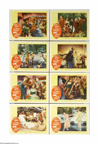 """Snow White and the Three Stooges (20th Century Fox, 1961). Lobby Card Set of 8 (11"""" X 14""""). Snow White must es..."""