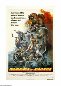 """Warlords of Atlantis (Columbia, 1978). One Sheet (27"""" X 41""""). Doug McClure stars in the science fiction tale o..."""