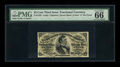 Fractional Currency:Third Issue, Fr. 1295 25c Third Issue PMG Gem Uncirculated 66 EPQ....