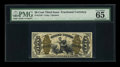 Fractional Currency:Third Issue, Fr. 1343 50c Third Issue Justice PMG Gem Uncirculated 65 EPQ....
