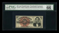 Fractional Currency:Fourth Issue, Fr. 1374 50c Fourth Issue Lincoln PMG Gem Uncirculated 66 EPQ....