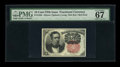 Fractional Currency:Fifth Issue, Fr. 1265 10c Fifth Issue PMG Superb Gem Unc 67 EPQ....