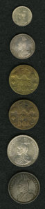 German East Africa, German East Africa: German Colonial 6-piece lot including: ... (Total: 6 coins)
