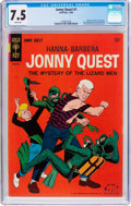 Silver Age (1956-1969):Adventure, Jonny Quest #1 (Gold Key, 1964) CGC VF- 7.5 White pages....