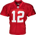 Football Collectibles:Uniforms, 2008 Aaron Rodgers Training Camp Worn Green Bay Packers Jersey - With Team LOA!...