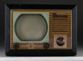 General Americana, An Emerson Model 610 Television Receiver with Mahogany Case,circa 1948. 10 h x 13-3/4 w x 15-7/8 d inches (25.4...