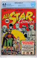 All Star Comics #7 (DC, 1941) CBCS FN+ 6.5 Off-white to white pages
